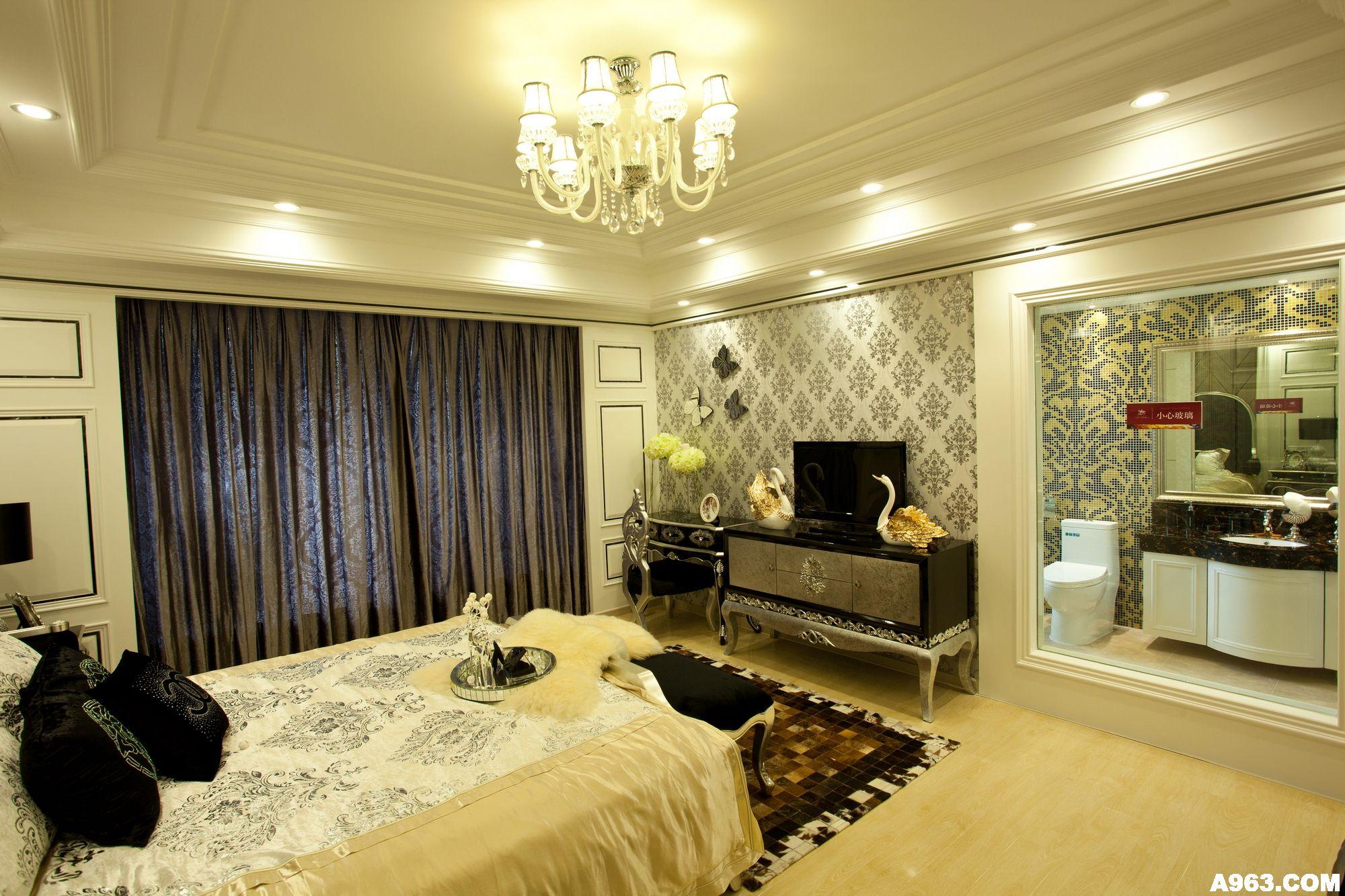后现代新古典风格样板房