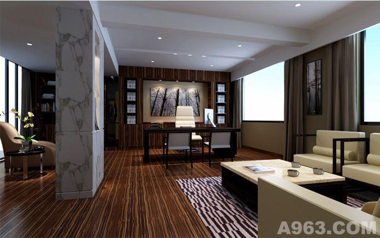 澳洲山庄办公室 - 办公空间 - 珠海室内设计网_珠海_.